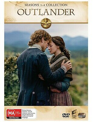 Outlander Seasons 1-4 Box Set DVD Region 4 NEW // PRE-ORDER for 29/05/2019
