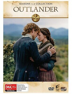 Outlander Seasons 1 4 Box Set DVD Region 4 NEW