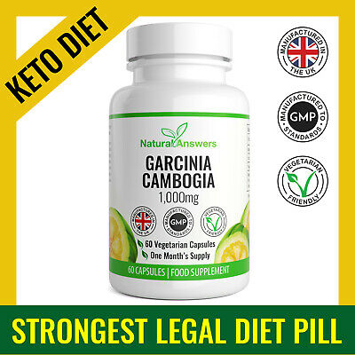 Garcinia Vita | Garcinia Cambogia 1000Mg | Keto Diet Pill | Strong T5 Fat Burner