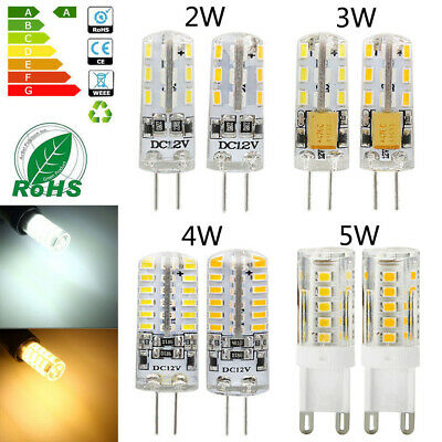 G9 G4 LED Bulb 2W 3W 4W 5W Capsule Light Bulbs Lamps Corn Bulb Halogen 12V 220V