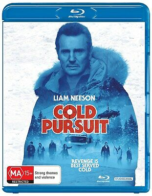 Cold Pursuit Blu-ray Region B NEW // PRE-ORDER for 29/05/2019