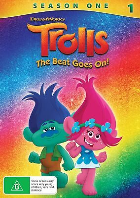 Trolls The Beat Goes On Season 1 DVD Region 4 NEW // PRE-ORDER for 19/06/2019