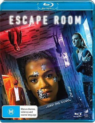 Escape Room Blu-ray Region B NEW // PRE-ORDER for 19/06/2019