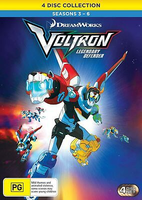 Voltron Legendary Defender Seasons 3-6 Box Set DVD Region 4 NEW // PRE-ORDER
