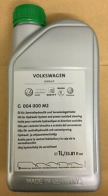 New Genuine VW Audi SEAT Skoda Green Power Steering Fluid Oil 1L **Free UK P&P**