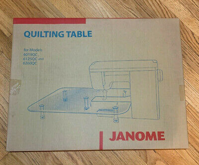 Janome Acrylic Quilting Extension Table - NEW IN BOX