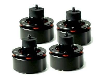 Isonoe Turntable Isolation Feet - Set Of Four (Black)