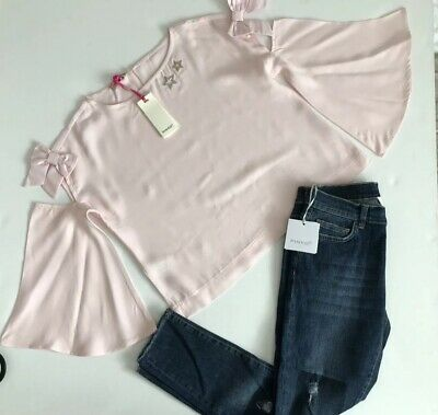 pinko Girls Outfit Jeans And Blouse BNWT Size Medium RRP £140 ‼️‼️. NOW £65 ‼️‼️