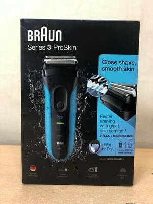 Braun Series 3 ProSkin 3040s Electric Shaver Wet and Dry Razor - AH 66006