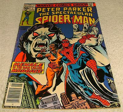 Marvel Comics Peter Parker The Spectacular Spiderman # 7 Vf- 1976