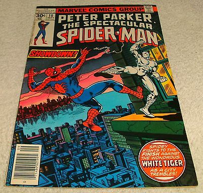 Marvel Comics Peter Parker The Spectacular Spiderman # 10 Vf 1976