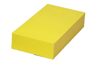"Plastic Block for Machining (Yellow) - 1.5"" x 6"" x 12"" - ABS Sheet"