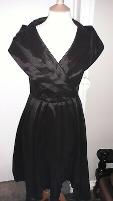 22ab2778827f Lindy Bop Amber Black 1950's Style Prom Special Occasion Dress Size 12