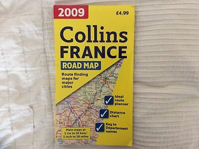 Collins 2009 France Road Map