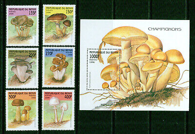 Shop For Cheap Benin 1009 Unmounted Mint Never Hinged 1998 Mushrooms Excellent Quality In