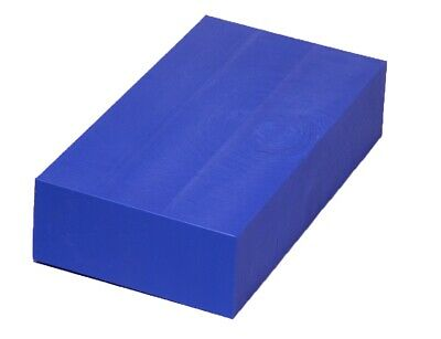 "Plastic Block for Machining (Navy) - 2"" x 6"" x 12"" - ABS sheet"