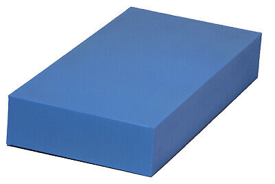 "Plastic Block for Machining (Blue) - 2"" x 6"" x 12"" - ABS"