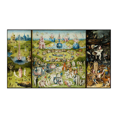 The The Garden Of Earthly Delights Wall Art Poster Print Home Wallpaper 24x42
