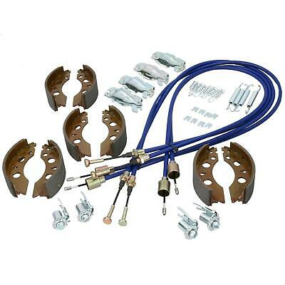 Brake Shoe & Cable Kit for Indespension 2600kg Tow-a-van Box Van Trailer
