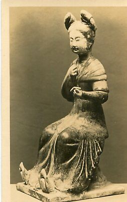 Art Figure of The Woman Chinese Sculpture at Victoria and Albert Museum Voir dos