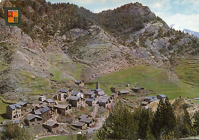 Carte ANDORRE Valls d'ANDORRA PAL Vista general