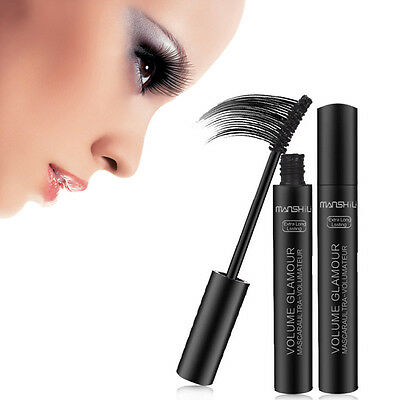 Mascara noir maquillage 3D cils en fibre cils extension de beauté Curling Beauté