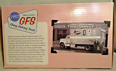 GORDON FOOD SERVICE Die Cast 1957 Chevy Delivery Truck