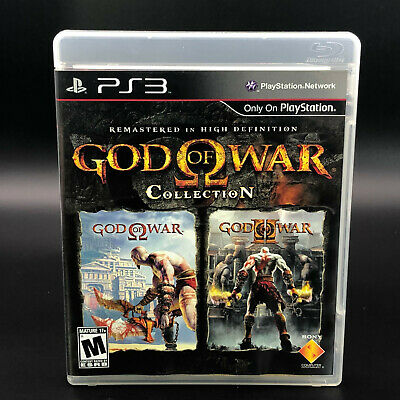 God of War Collection (Sony PlayStation 3, PS3) *COMPLETE - TESTED - BLACK LABEL