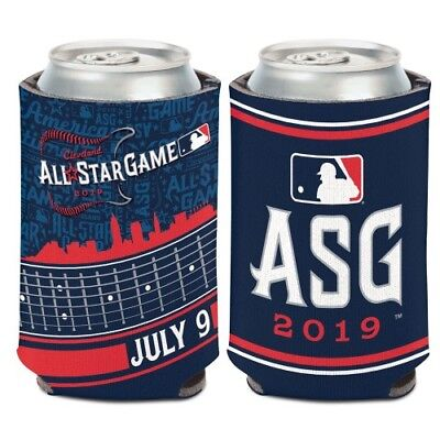 Cleveland Indians 2019 Mlb All Star Game Neoprene Can Coozie Koozie Cooler