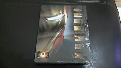 Iron Man Blufans exclusive Blu-ray Steelbook Empty Case (V1), New/Mint