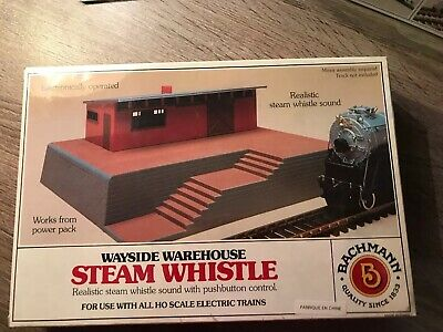 BACHMANN HO 46209 WAYSIDE WAREHOUSE STEAM WHISTLE FACTORY SEALED