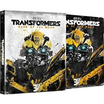 TRANSFORMERS: DARK OF THE MOON - Blu Ray Steelbook Slipcase Edition New Sealed
