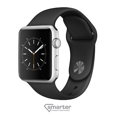 Apple Watch Series 3 38mm  Aluminum - Black Band MTF02LL/A