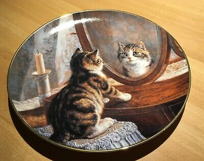 Franklin Mint Picture Perfect By Frank Paton Teller Sammelteller Katze Neu