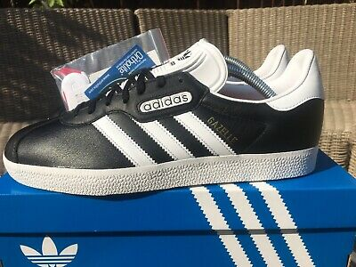 the best attitude 7caa1 07eaf Adidas Gazelle Super Black   White Size 9 Retro 80s Football Casuals  Deadstock