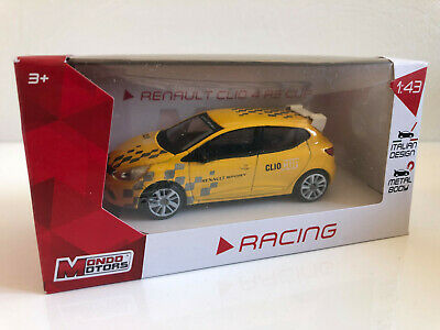 Voiture Miniature Racing Renault Clio 4 Rs Cup Metal 1 43 Collection Neuf