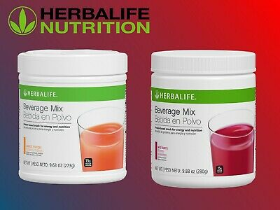 NEW! HERBALIFE BEVERAGE MIX 9.88oz PROTEIN ENERGY NUTRITION SNACK LOW CALORIES