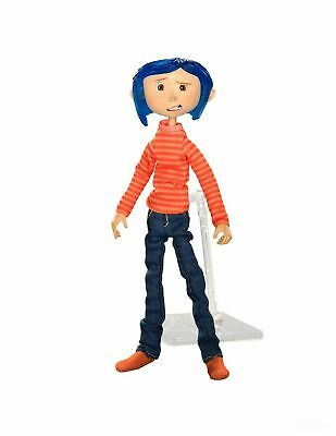 Coraline – Articulated Figure – Coraline in Striped Shirt and Jeans - NECA
