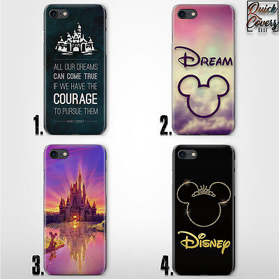 Quote Disney Castle Mouse Thin Uv Case Cover For Iphone