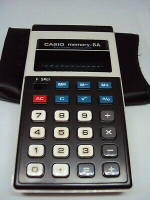 Vintage calculator Casio CD-813 Made in Japan 1980 s