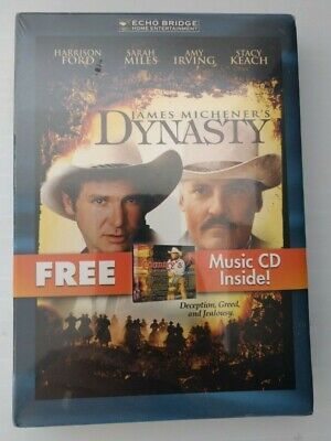 James Michener's Dynasty DVD With Bonus CD Country's Greatest NEW