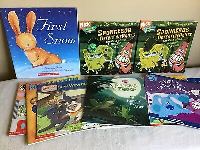 Mixed Lot Of (15) Scholastic Children's Story Picture Books Teacher Classroom