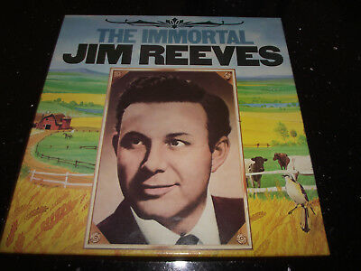 Mint- The Immortal Jim Reeves 6 Lp Readers Digest Box Set Gjim A 007 Country