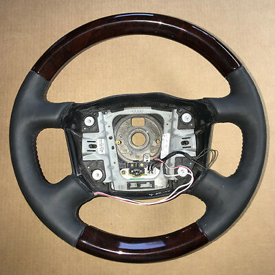 Land Rover Discovery I Genuine Burlwood Steering w/Black Leather 95-98