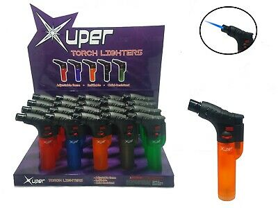 Xuper Torch Lighter (RUBBER Finish) LOT OF 5, 10, 15, And 20
