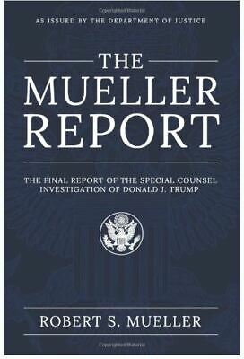 The Mueller Report: The Final Report of the Special Counsel (Paperback-2019) r