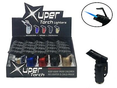 Xuper Torch Lighter Mini (Metal Finish) - LOT OF 5, 10, 15, And 20