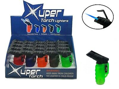 Xuper Torch Lighter Mini (Rubber Finish) LOT OF 5, 10, 15, And 20