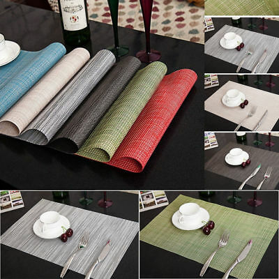 1Pcs PVC Anti-Slip Table Insulation Mat Heat Pad Kitchen Placemats Coasters Tool