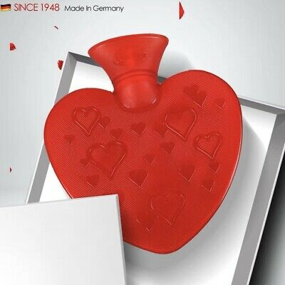 Fashy Heart Shaped Pvc Explosion-proof Hot Water Bottle Hot Water Bag 0.7L